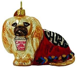 Pekingese Christmas Ornaments