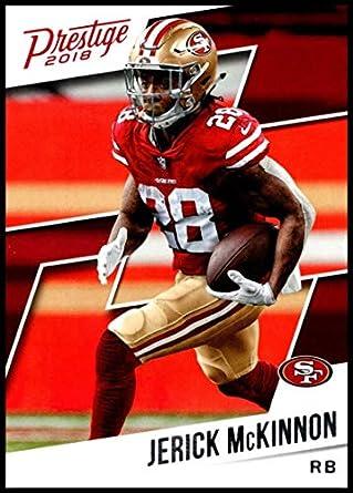 reputable site 2ca43 e3d30 Amazon.com: 2018 Prestige NFL #101 Jerick McKinnon San ...
