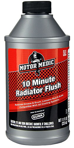 Gunk Motor Medic C1412 10-Minute Radiator Flush - 11 oz. ()