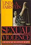 Sexual Violence, Linda Fairstein, 0688067158