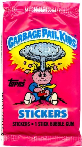 Topps UNITED KINGDOM Garbage Pail Kids Trading Cards 1st Series 1 Unopened Booster Pack 1985