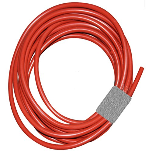 SUPCO SSRT3165 Silicone Tubing, 5 Feet Length, Red, 3/16
