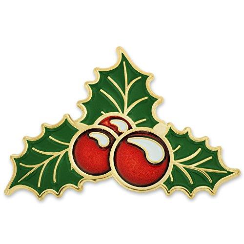 Berry Pin - PinMart Christmas Holly Berry Xmas Mistletoe Holiday Lapel Pin