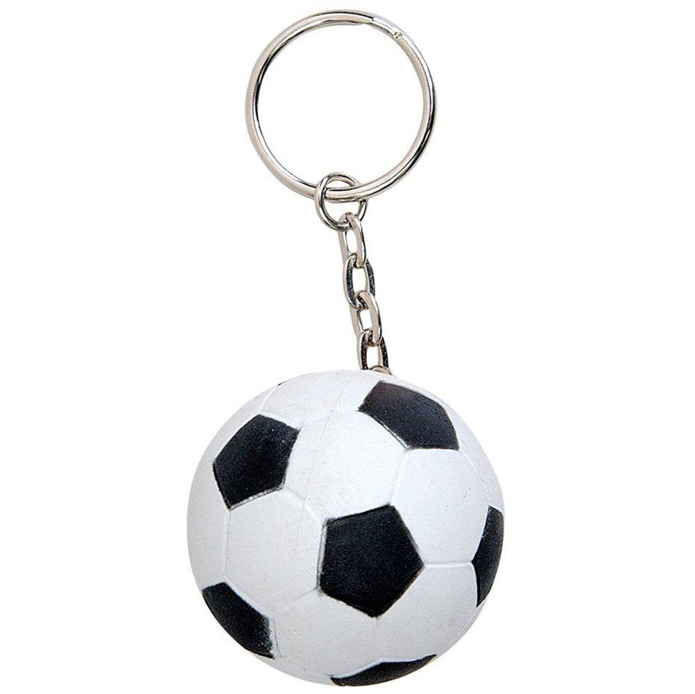 Cameleon-Shop Llavero Espuma Balón Fútbol Negro Blanco: Amazon.es ...