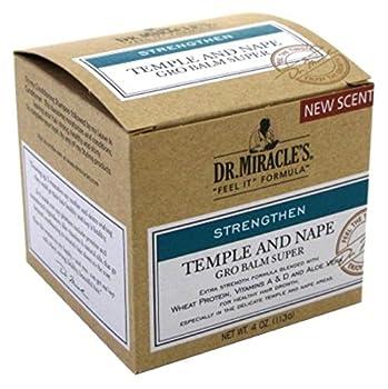 Dr. Miracles Strengthen Temple & Nape Balm 4oz Super (2 Pack)