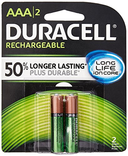 Duracell 041333661582 Rechargeable Batteries, AAA, 8.45