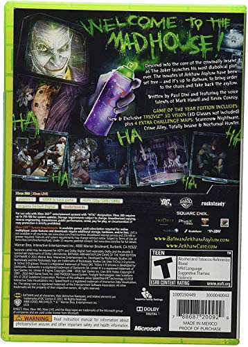 Batman: Arkham Asylum [Game of the Year Edition] (Platinum ()