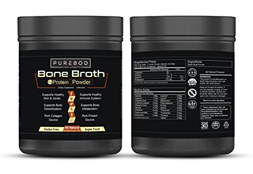 Beef Bone Broth Mix Superfood For Paleo & Keto Weight Loss | Certified Natural