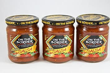 On The Border Salsa - Medium, 16 oz. (Pack of 3)