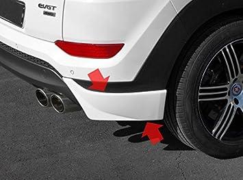 New Front Left /& Right Textured Plastic Bumper End Set for Toyota RAV4 2013-2015