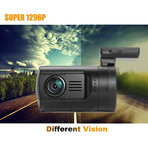 Dashboard Camera, SplashETech Mini 0806 Dash CamWorld's Smallest Dash Camera W/ Screen Amba A7LA50 + OV4689, HDR, Full HD 1296P, Car Recorder, Dvr Car Camera with GPS Logger