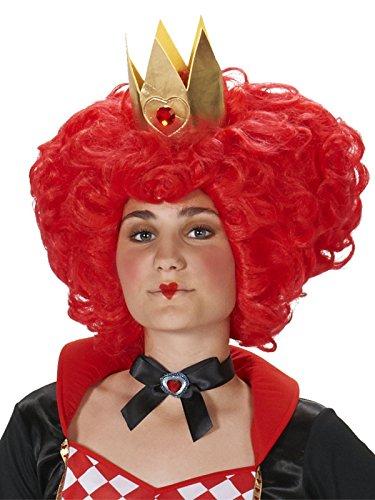 Dream Weavers Costumers Red Heart Queen Adult Wig]()
