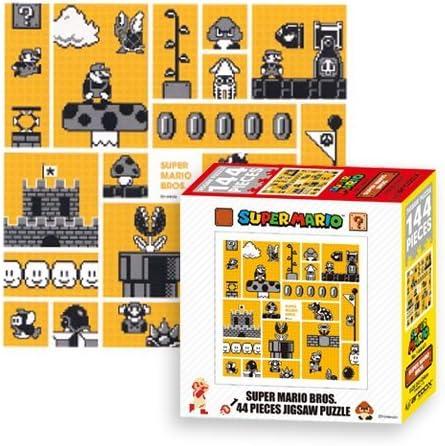 Ensky Nintendo Super Mario Brothers 30th Anniversary Orange Mario Bros Jigsaw Puzzle (144 Piece) by ensky: Amazon.es: Juguetes y juegos