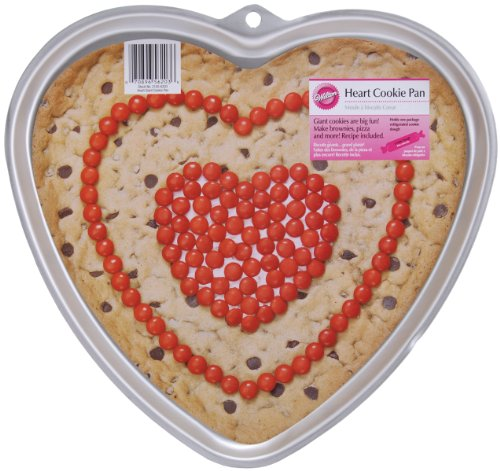 Wilton Heart Giant Cookie Pan