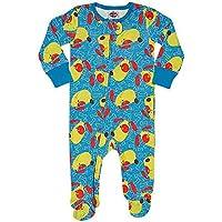 Macacão Pijama bebê Azul M, TipTop, Azul, M