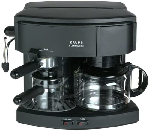 Krups 985-42 Il Caffe Duomo Coffee and Espresso Machine, Black
