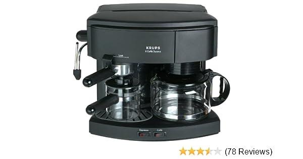 Krups 985-42 Il Caffe Duomo Coffee and Espresso Machine, Black