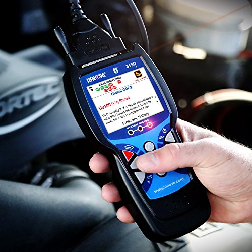 Innova Color Screen 3150f Code Reader/Scan Tool with ABS/SRS and Bluetooth for OBD2 Vehicles by Innova (Image #4)