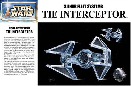Tie Interceptor - Japanese Collectible by Fine Molds