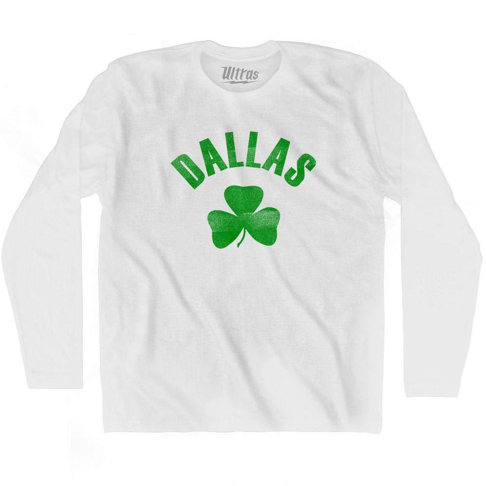 Ultras Dallas City Shamrock Cotton Long Sleeve T-Shirt