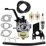 Dalom Carburetor w Fuel Filter Harbor Freight Chicago Predator 208cc Portable Generator 68527 68528 67560 67561 69675 69676 69728 69729 208CC 212CC 6.5HP 7HP Engine