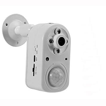 eoqo Cámara de detección de Movimiento, 1080P PIR Cámara de Seguridad con visión Nocturna,