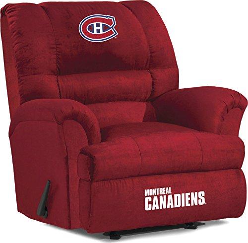 White Leather Sofas Montreal: Montreal Canadiens Recliner, Canadiens Leather Recliner
