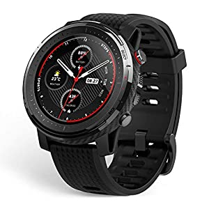 "Amazfit T-Rex Smartwatch, Military Standard Certified, Tough Body, GPS, 20-Day Battery Life, 1.3"" AMOLED Display"