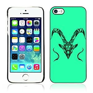 Designer Depo Hard Protection Case for Apple iPhone 5 5S / Beautiful Animal Detailed