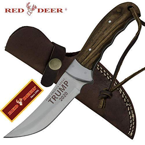 RED DEER Trump Keep America Great 2020 Hunting Knives