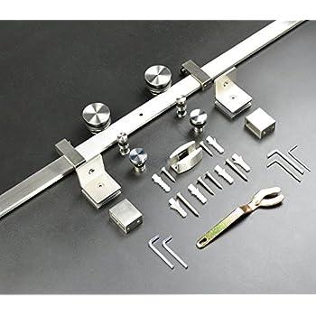 Amazon Frameless Sliding Shower Door Hardware Kit Glass Door