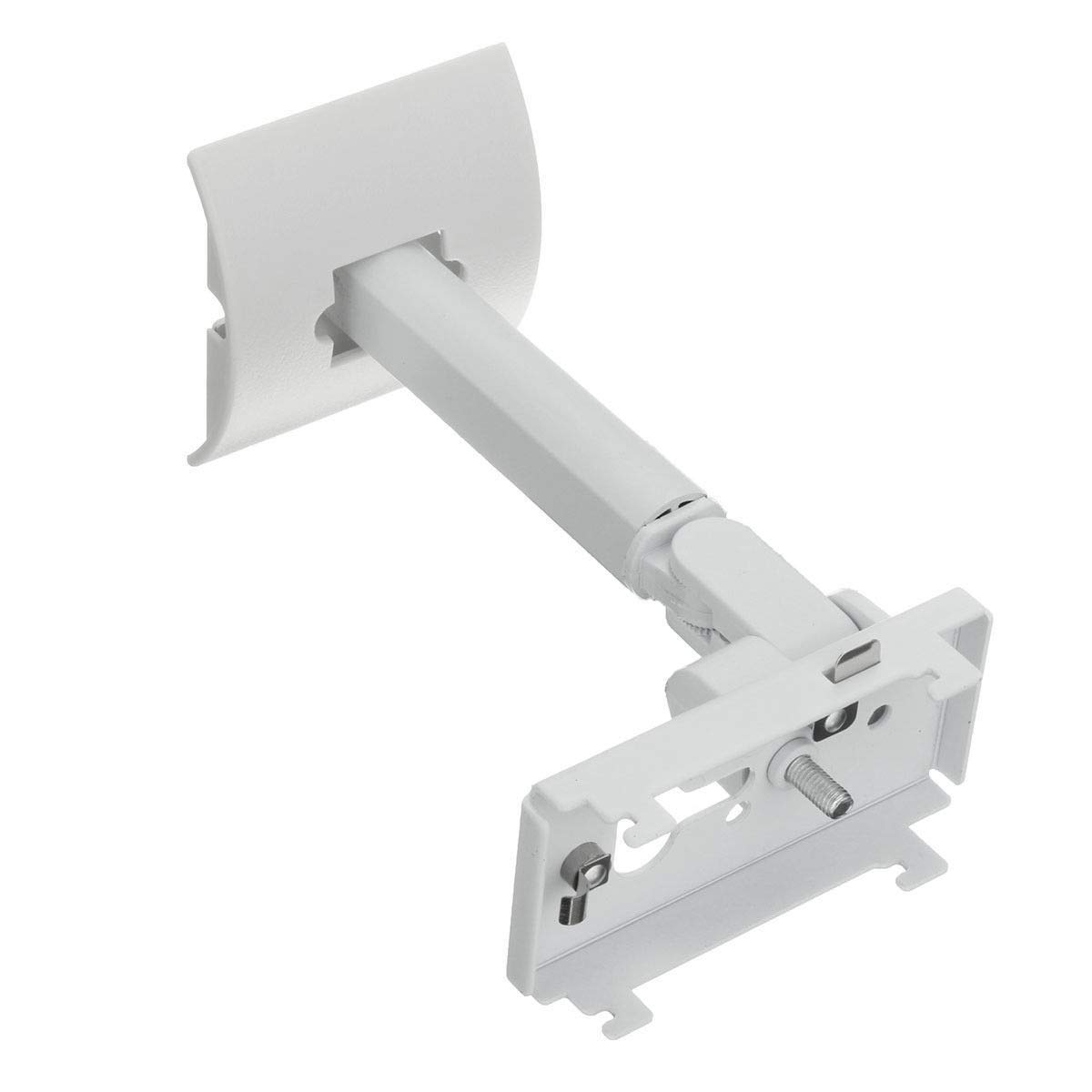 UB-20 Series II Steel Wall Mount Ceiling Bracket Stand Compatible with All Bose CineMate Lifestyle (White)