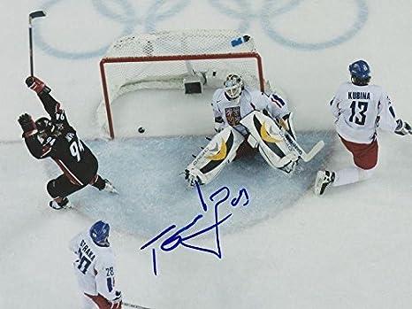 Signed Tomas Vokoun Photo - CZECH REPUBLIC 8X10 w COA - Autographed NHL  Photos 15991be9b