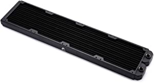 FormulaMod Copper Radiator 480mm Quad Fan PC Water Cooling Radiator Black 28mm Thickness (480mm)