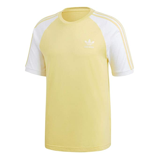 adidas Originals - Camiseta - para Hombre Amarillo Amarillo Medium