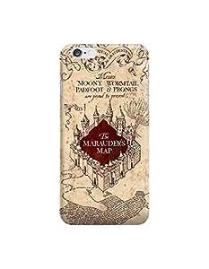 Harry Potter The Marauder's Map- Funda Carcasa para Apple iPhone 6