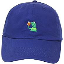 "Kermit The Frog ""Sipping Tea"" Adjustable Strapback Cap"