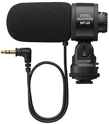 gigibon Profesional cámara Escopeta micrófono, micrófono estéreo ...