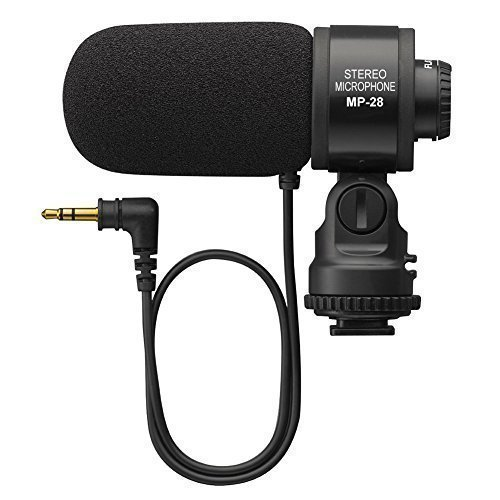 Gigibon Professional On-Camera Shotgun Microphone, External Stereo Mic for DSLR Canon, Nikon, No Battery ( ME-1 Microphone Replacement) by Gigibon