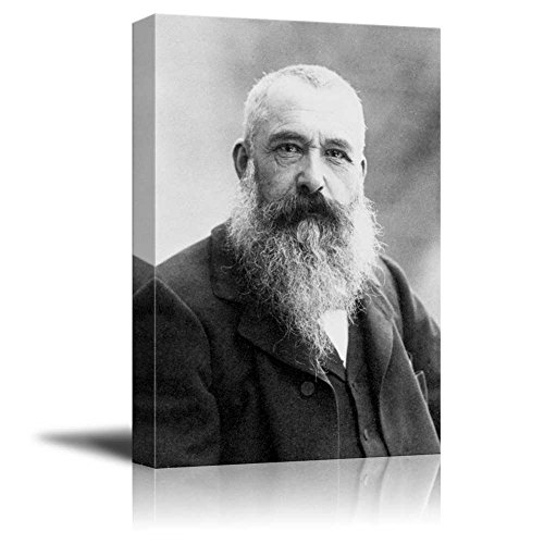 Portrait of Claude Monet Inspirational Famous People Series