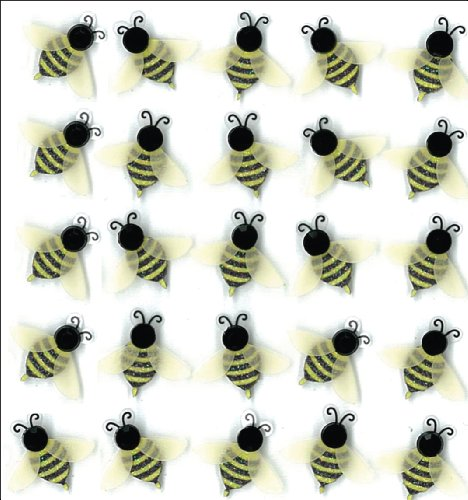 Jolee's Boutique Dimensional Stickers, Bees]()