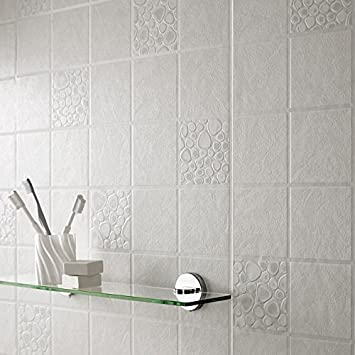 Graham Brown Luxury Vinyl Pebble Tile Kitchen Bathroom Wallpaper Roll 15171