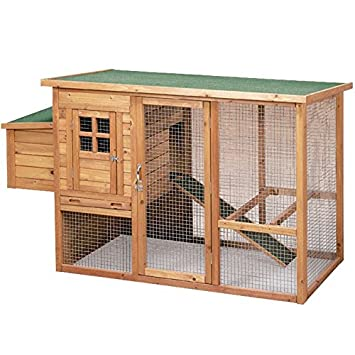 COPELE 0000000015543 Caseta Madera Mod Lyon: Amazon.es: Productos para mascotas