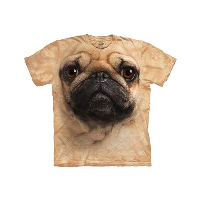 21964c1b The Mountain Men's Pug Face T-Shirt: Amazon.ca: Clothing & Accessories