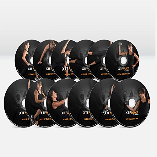 XTFMAX: Find Your Shape - Complete Home Fitness - 12 DVD Set