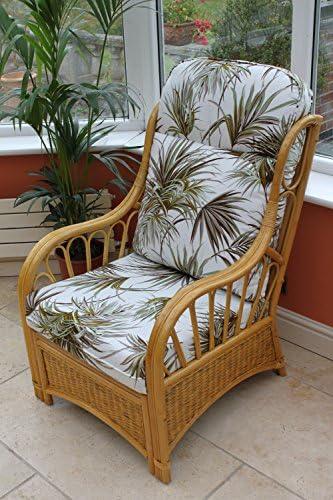 /Tessuto Motivo Palme. /2/POLTRONE Una Tavolino/ Garden Market Place Set Salotto da Giardino d Inverno 2/Pezzi in Rattan Sorrento/