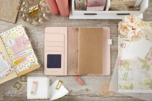Webster's Pages Pretty Pink Travelers Notebook (TJ001-PP)
