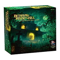 Betrayal at House on the Hill Board Game -2nd Edition: Take a deep breath before you enter. It might be your last. Your fear will grow with each tile you place as you investigate a house filled with dreadful monsters and deadly secrets. With ...