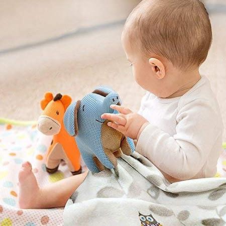 140 cm x 70 cm incluye juguete de malla transpirable 2 unidades Juego de s/ábanas transpirables para cuna y cama de beb/é
