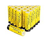 Tycipy 20 Pack 1.2V 2800mAh Rechargeable Ni-MH AA Btteries